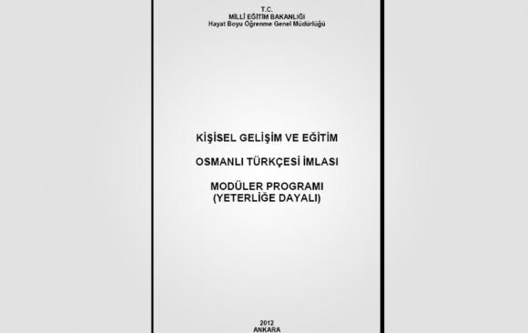 Kur 2: Osmanlı Türkçesi İmlası