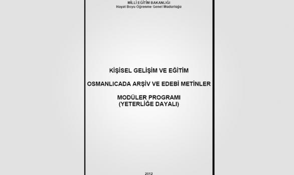 Kur 4: Osmanlıcada Arşiv ve Edebi Metinler
