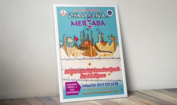 Osmanlıca'dan Merhaba (50 x 70)